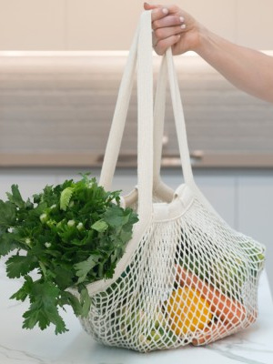 String Carry Bag - Long Handle