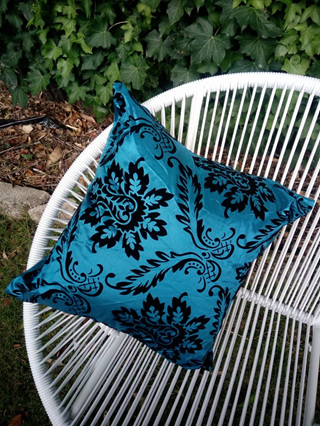 Strinkengly Awesome Blue With Black pattern Cushion Cover