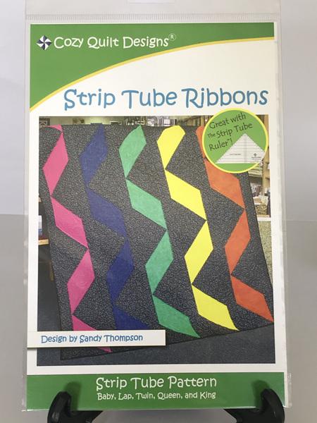Strip Tube Ribbons Quilt Pattern