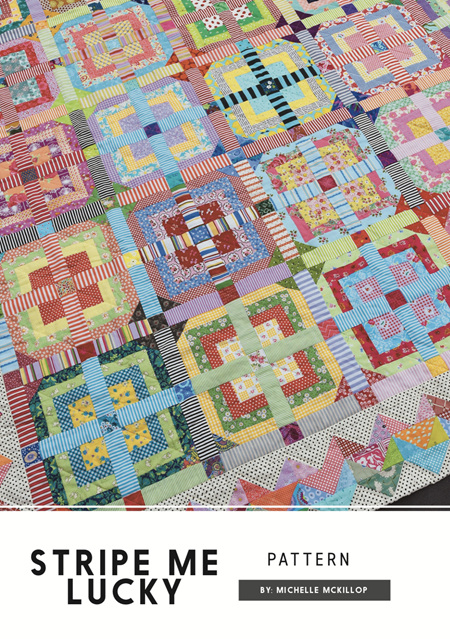Stripe Me Lucky Quilt Pattern