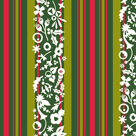 Stripe Mistletoe A-9118-G