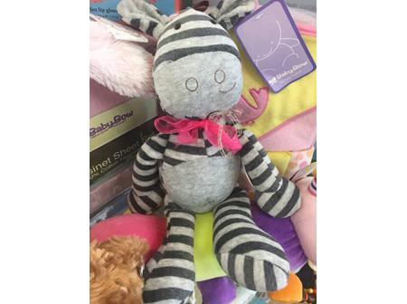 Stripey Hippo Toy