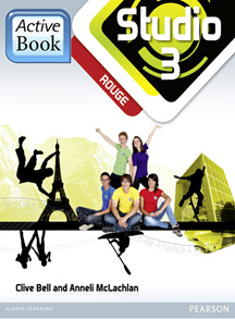 Studio 3 Rouge ActiveBook International Subscription