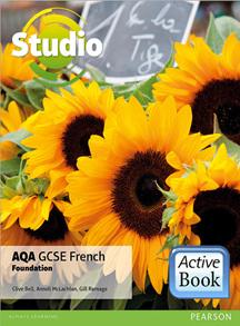 Studio AQA GCSE French Foundation ActiveBook International Subscription