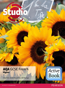 Studio AQA GCSE French Higher ActiveBook International Subscription