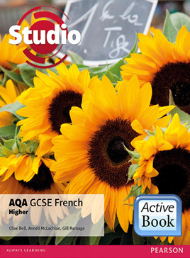 Studio AQA GCSE French Higher ActiveBook International Subscription