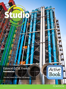 Studio Edexcel GCSE French Foundation ActiveBook International Subscription