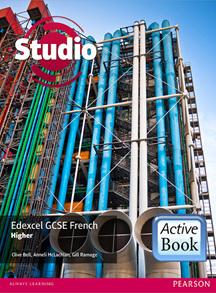 Studio Edexcel GCSE French Higher ActiveBook International Subscription