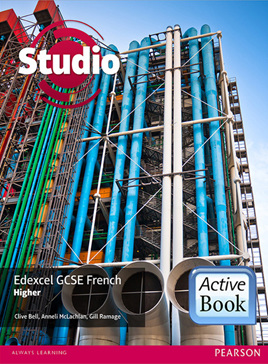 Studio Edexcel GCSE French Higher ActiveBook International Subscription