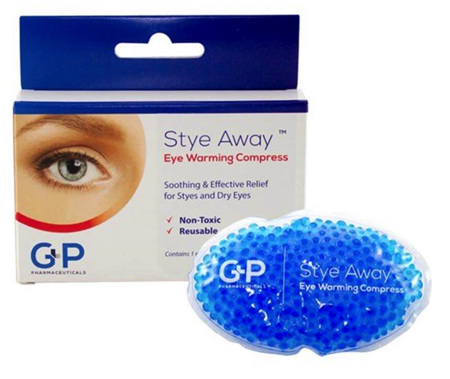 STYE AWAY EYE WARMING COMPRESS REUSABLE