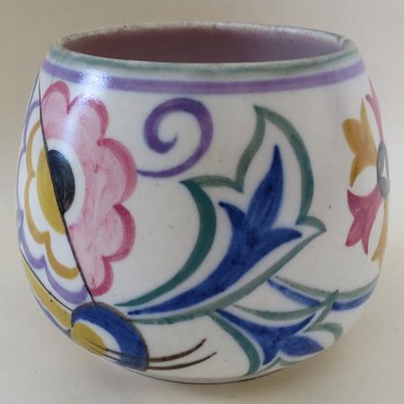 stylised flower pattern
