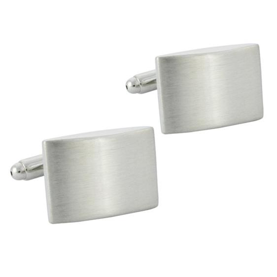 Stylish Silver Cufflinks