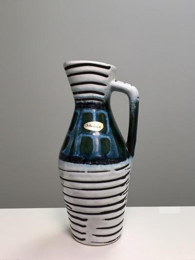 Stylish Vintage West German Handled Vase by Scheurich