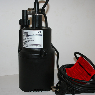 submersible pump no float