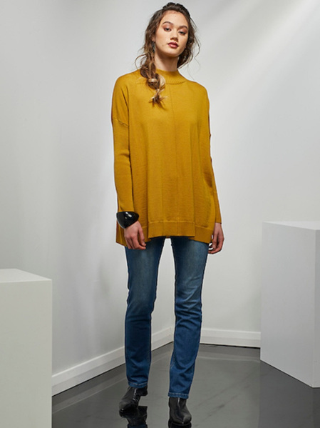 Substance Sweater - Mustard