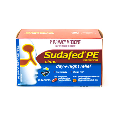 Sudafed Day & Night
