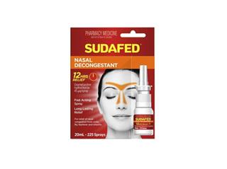 SUDAFED Nasal Spray 20ml :