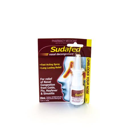 Sudafed Nasal Spray