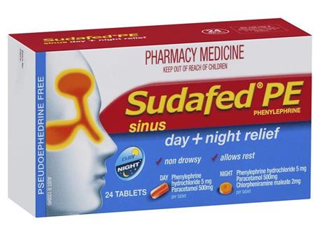 Sudafed PE Day & Night