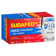 SUDAFED PE DAY & NIGHT SINUS RELIEF 48