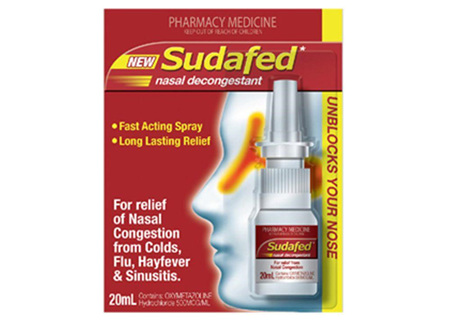 Sudafed Sudafed Nasal Decongestant Spray