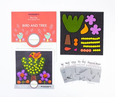 Sue Spargo Pre-Cut Bird and Tree