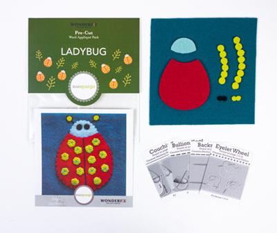 Sue Spargo Pre-Cut Ladybug