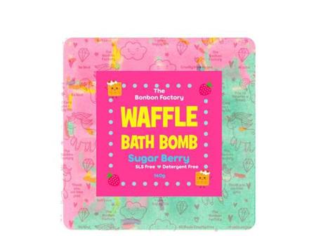 Sugar Berry Waffle Bath Bomb
