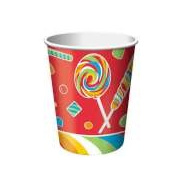 Sugar Buzz Lollipop Party Cups