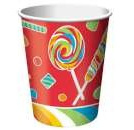 Sugar Buzz Lollipop Party Cups