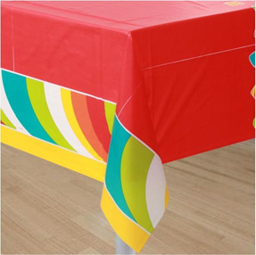Sugar Buzz Lollipop Party Table Cover