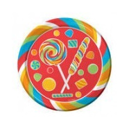 Sugar Buzz Party Plates Large