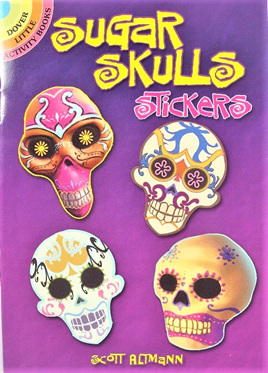 Sugar Skulls Stickers