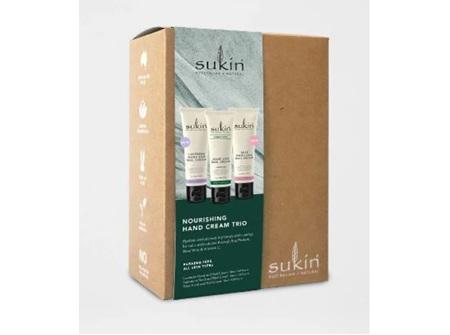 Sukin Hand Cream Trio Gift pack 3x50 ml