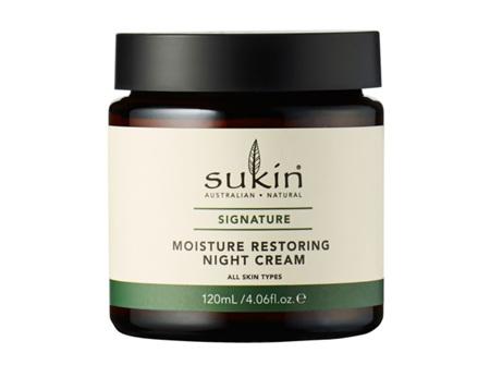 Sukin Moisture Restoring Night Cream, 120 ml