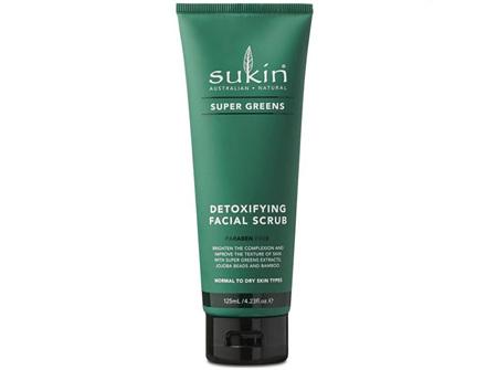 Sukin Super Greens Detoxifying Facial Scrub 125ml