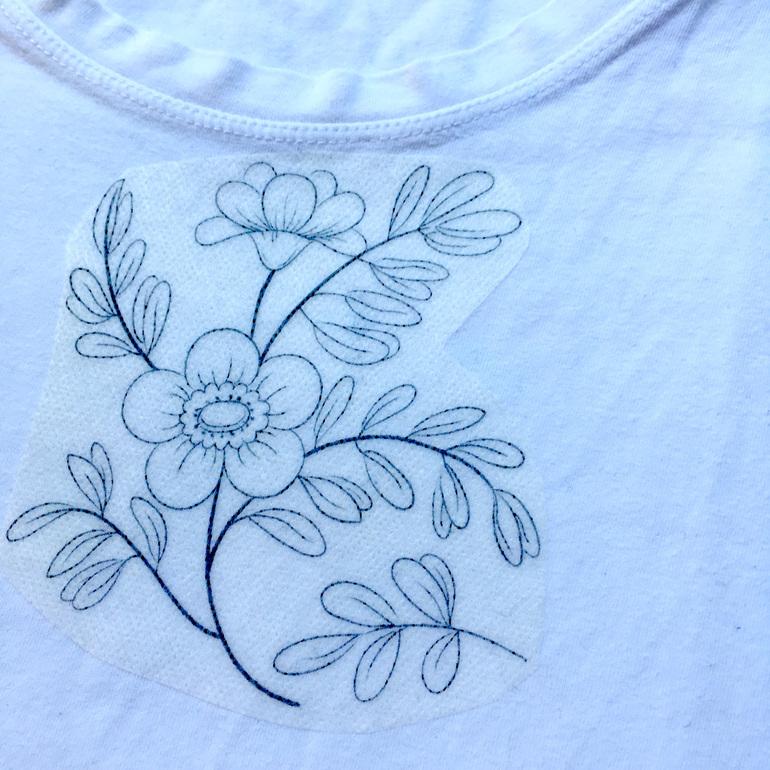 sulky fabri solvy tshirt design