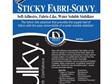 Sulky Sticky Fabri-Solvy Stabilizer - White