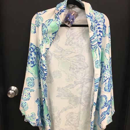 Summer cacoon in Sweatshirt Material