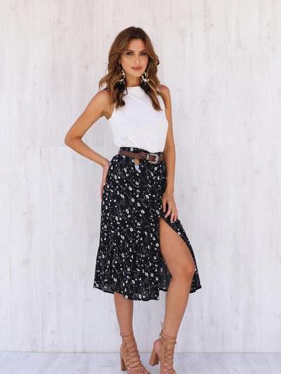 Summer Desires Midi Skirt