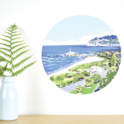 Sumner wall decal dot