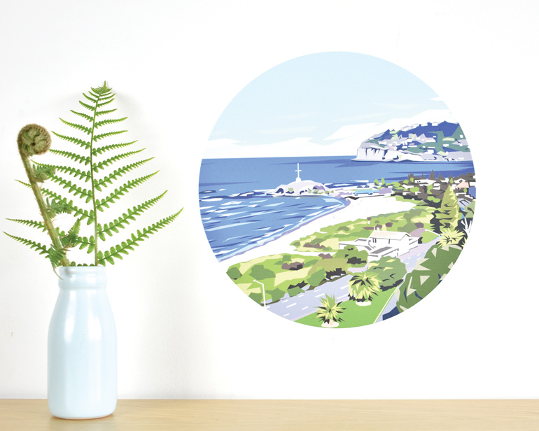 Sumner wall decal