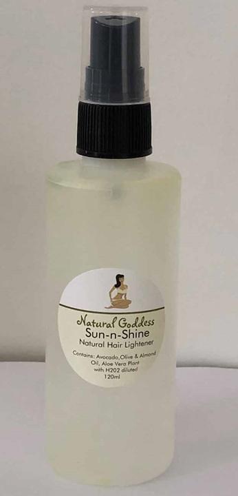 Sun-n-Shine Hair Lightener