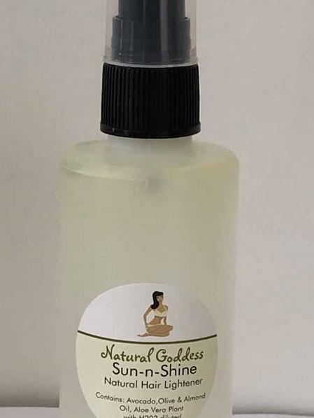 Sun-n-Shine - Hair Lightener - now 120ml bottle