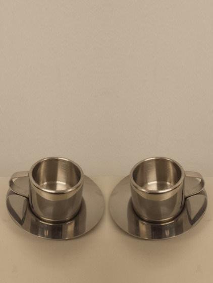 Sunbeam Coffee Machine Espresso Metal Cups 2 pk