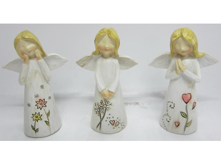 Sunbird Angel Poly Resin 12Cm (4)