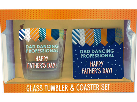 Sunbird Dad Scotch Dance Coaster Set