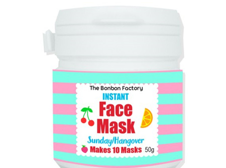 Sunday Hangover Face mask
