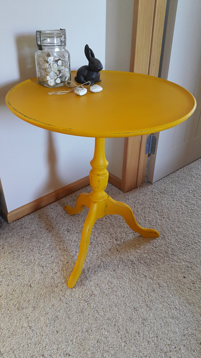 Sunflower Side Table