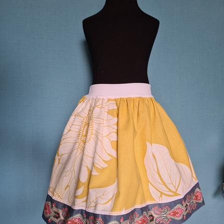 Sunflower Skirt Size 5-7